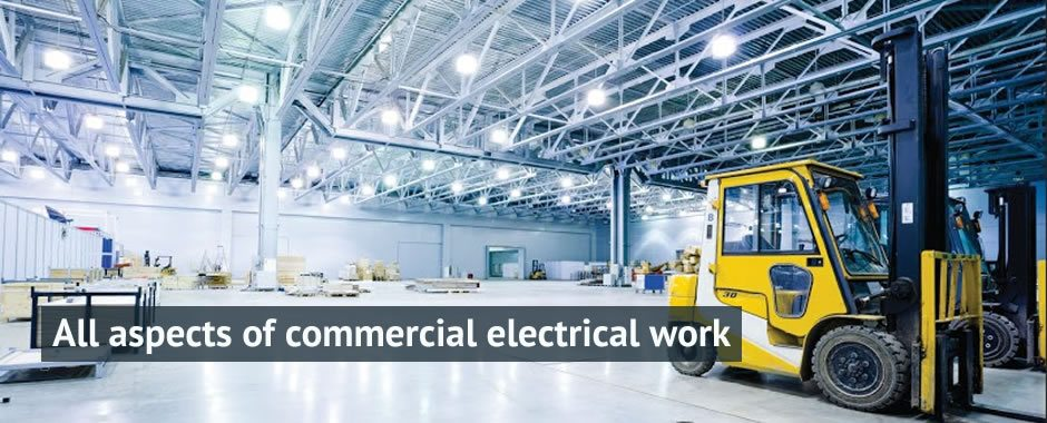 Commercial Electrical Work Derby Electricians